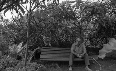 Rubem Braga e o seu quintal aéreo