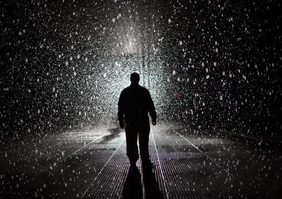 US-ART-RAIN ROOM-MOMA