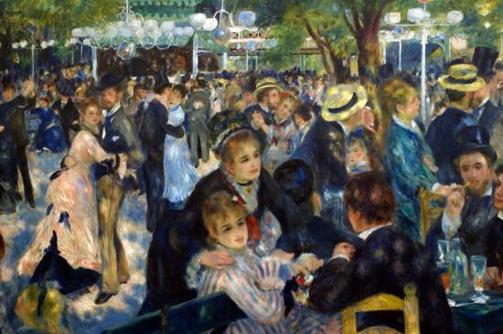 Baile no Moulin de la Galette (Renoir)